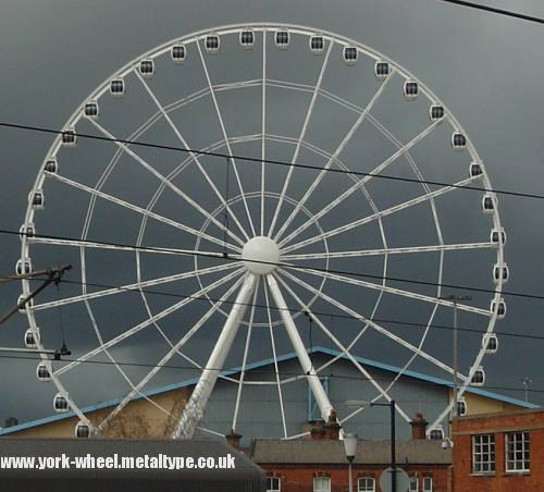 April 8 - The Yorkshire Wheel complete